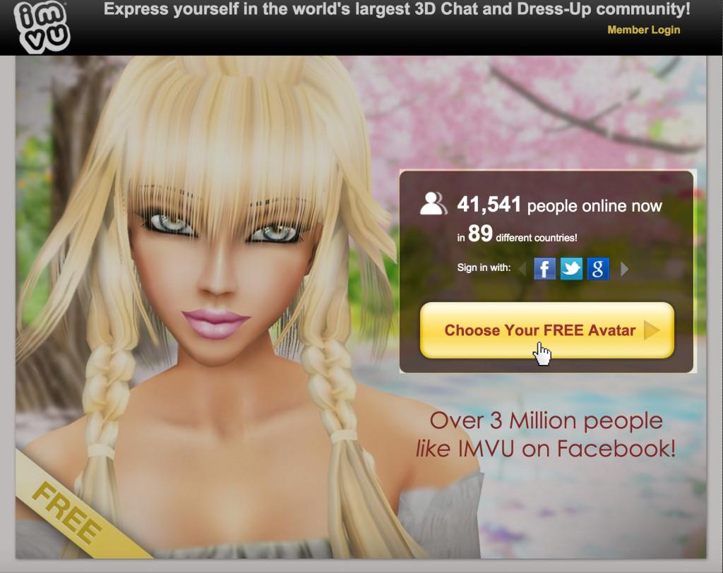 Sign www up com imvu Get Started