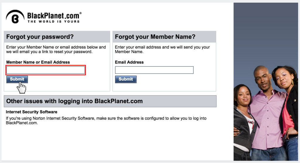 BlackPlanet login - www.blackplanet.com - Account sign in